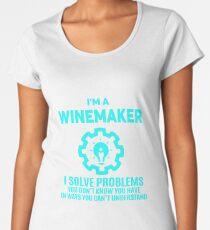 WINEMAKER - NICE DESIGN 2017 Women's Premium T-Shirt