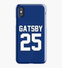"Jay Gatsby ""25"" Jersey iPhone Case/Skin"