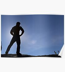 Elite Male Fitness Model - A006 Poster