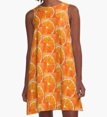 Orange orange A-Line Dress