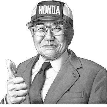 Soichiro Honda by LadiesMan127