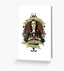 Drusilla - Buffy the Vampire Slayer Greeting Card