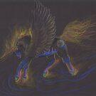 Winged Unicorn by Stephanie Small