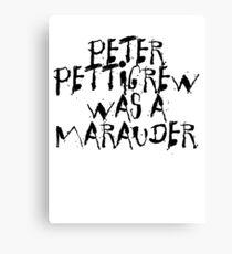 Peter Pettigrew Canvas Print
