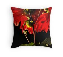 Dahlia... Throw Pillow