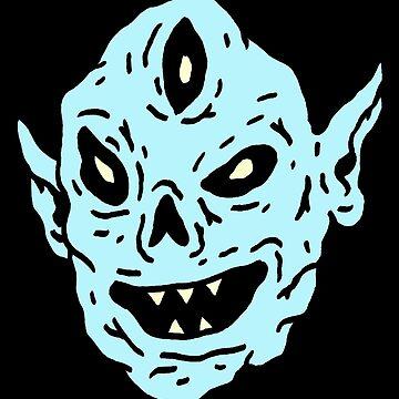 alien sticker by goatgraff
