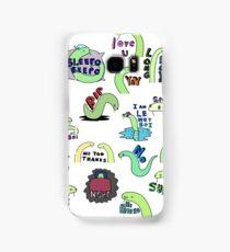 All The Sticker Boyes - Tiny Snek Stickers Samsung Galaxy Case/Skin