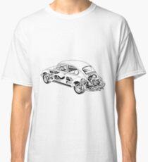 VW Beetle blueprint Classic T-Shirt