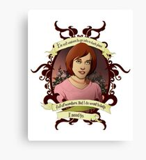 Willow - Buffy the Vampire Slayer Canvas Print