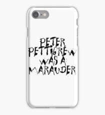 Peter Pettigrew iPhone Case/Skin