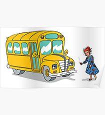 Magic School Bus Poster