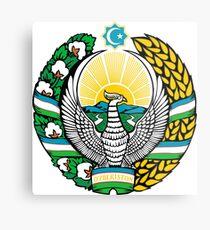 Uzbekistan Metal Print