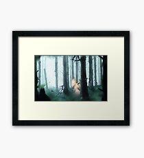 Leaf Confusion Framed Print