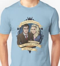 Rose and the 10th Doctor - Doctor Who T-Shirt