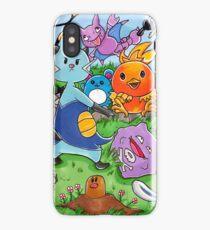 Pokemon Crowd iPhone Case/Skin