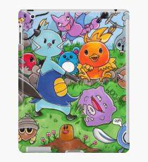 Pokemon Crowd iPad Case/Skin