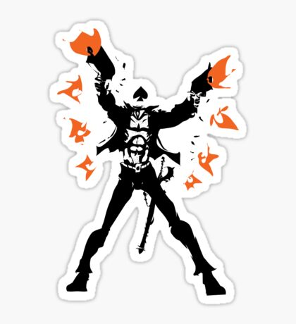 The Ace of Spades Sticker