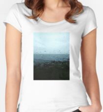 Dewdrops Women's Fitted Scoop T-Shirt