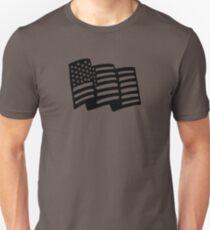 Waving American Flag T-Shirt