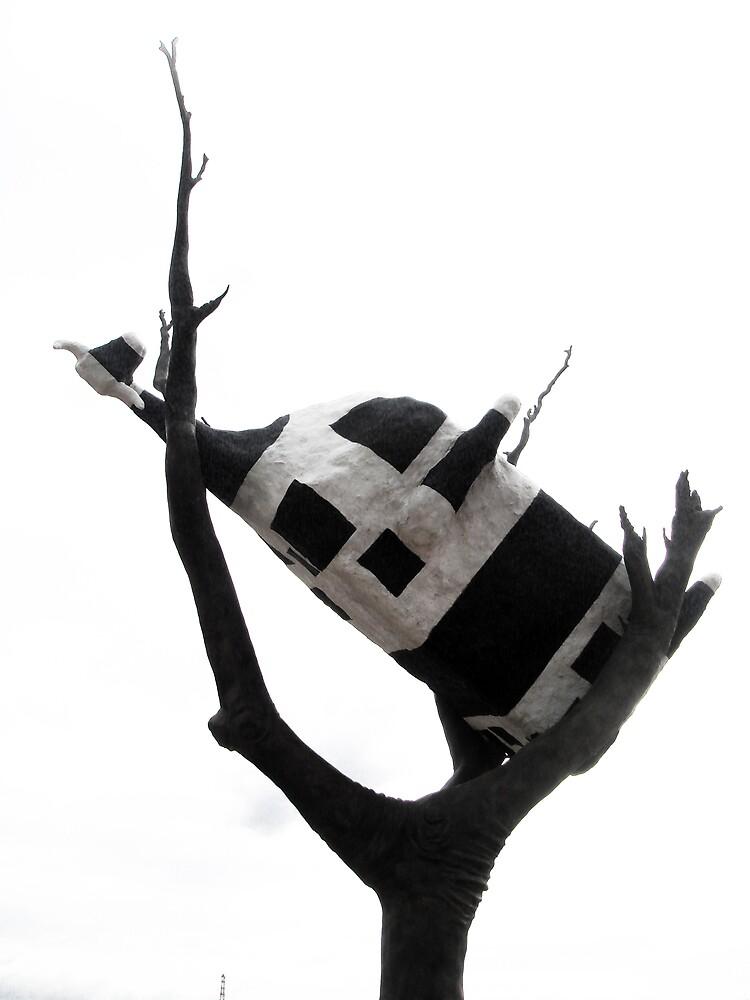 Cow Up A Tree by Karen Topacio
