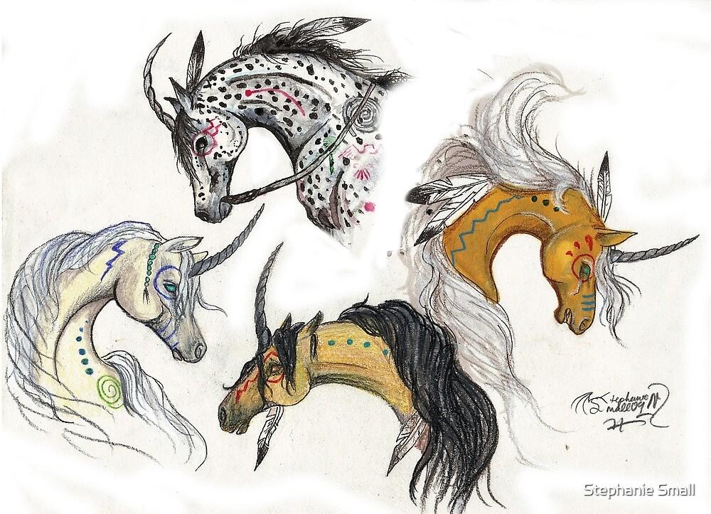 Native Unicorns by Stephanie Small