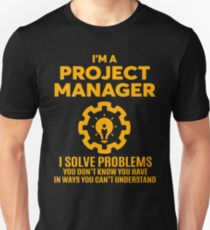 Project manager t shirts redbubble for T shirt help desk