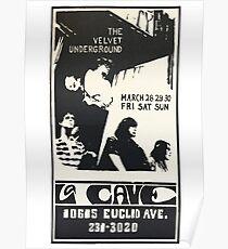 The Velvet Underground La Cave Poster