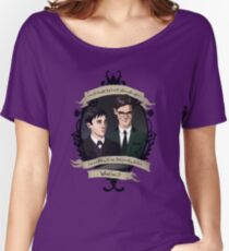 Oswald and Ed (Nygmobblepot) - Gotham Women's Relaxed Fit T-Shirt