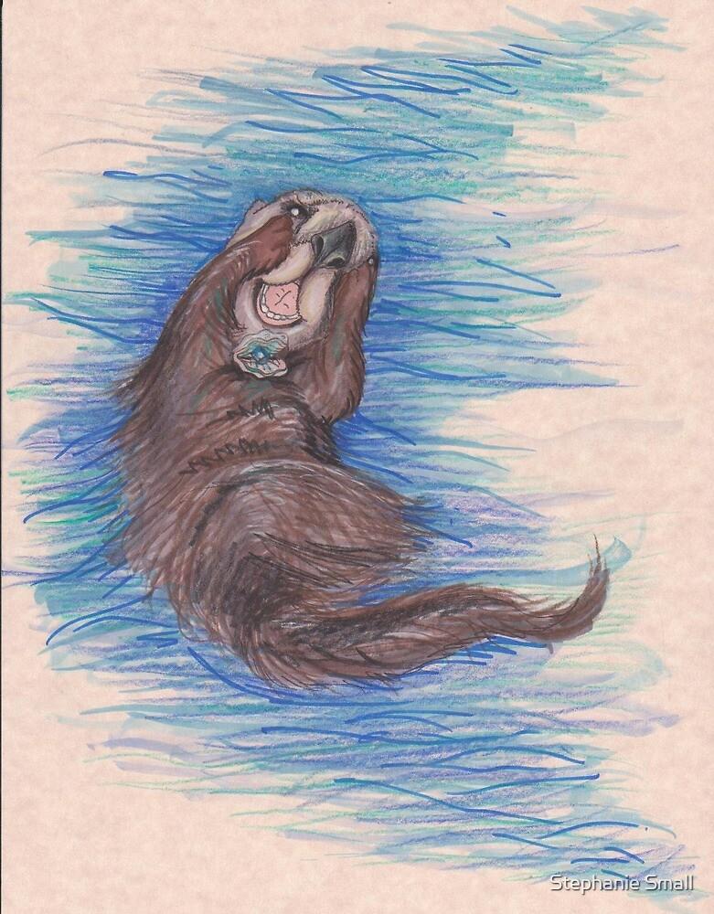 Sea Otter Joy by Stephanie Small