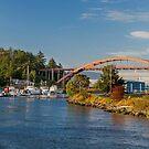 Rainbow Bridge - Shelter Bay - La Conner, Washington by Jim Stiles