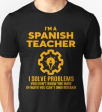 SPANISH TEACHER - NICE DESIGN 2017 Unisex T-Shirt