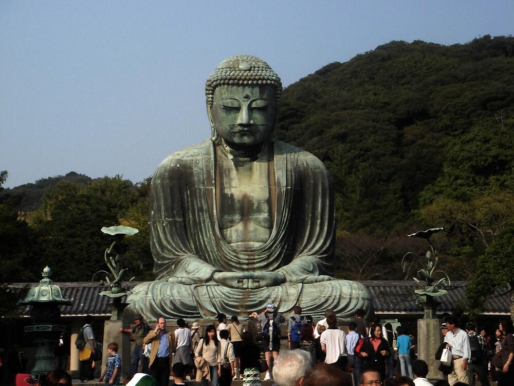 The Great Buddha of Kamakura by Karen Topacio