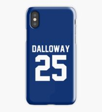 "Clarissa Dalloway ""25"" Jersey iPhone Case/Skin"