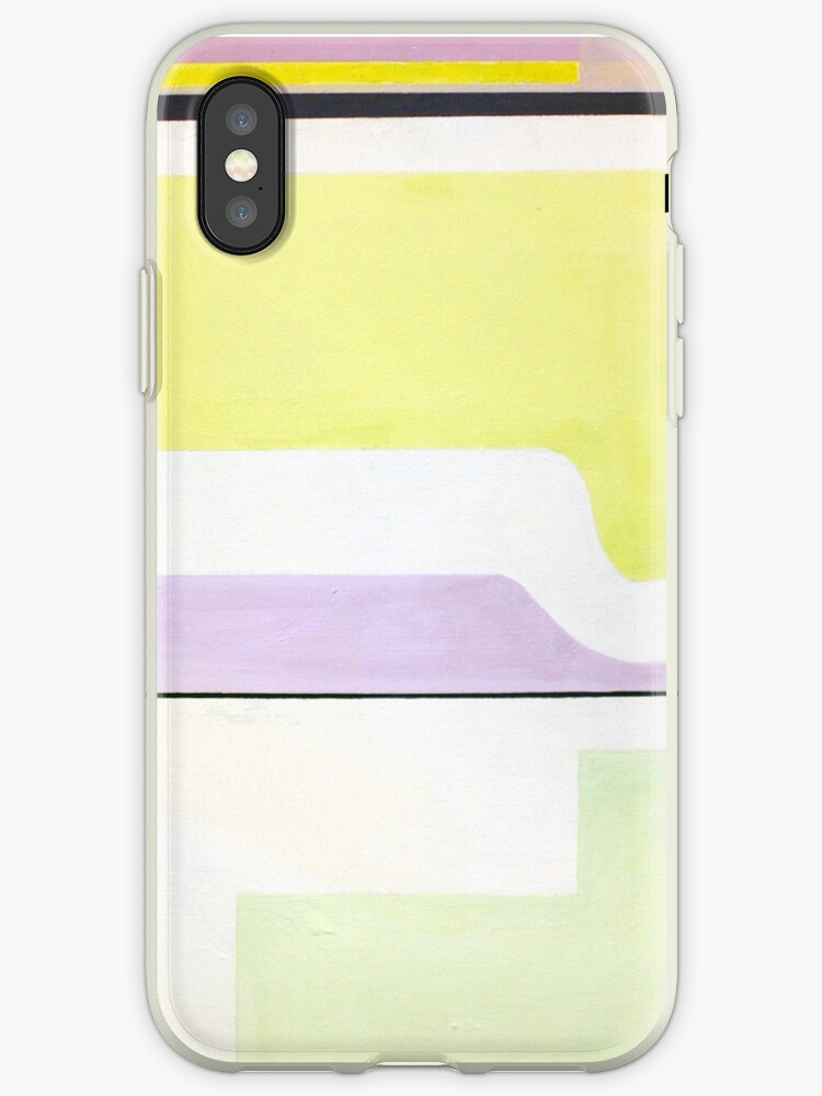 Abstract: Mint, Yellow & Lavender by fossyboots