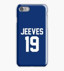 """Jeeves """"19"""" Jersey iPhone Case/Skin"""