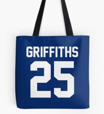 """Clyde Griffiths """"25"""" Jersey Tote Bag"""