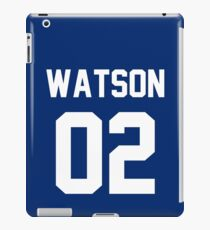 "John Watson ""02"" Jersey iPad Case/Skin"