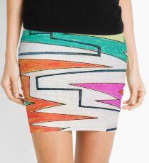 Zig Zags Mini Skirt
