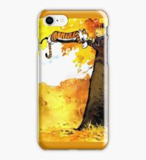 Calvin and Hobbes Autumn iPhone Case/Skin