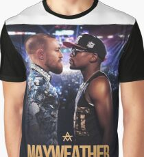 Conor McGregor vs Floyd Mayweather | The Money Fight Graphic T-Shirt