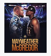 Conor McGregor vs Floyd Mayweather | The Money Fight Photographic Print