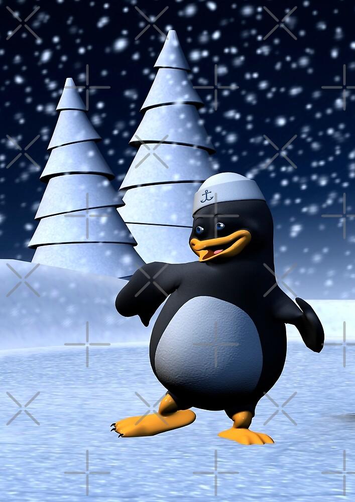 Dancing Penguin by Vac1
