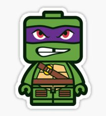 Chibi Donatello Ninja Turtle Sticker