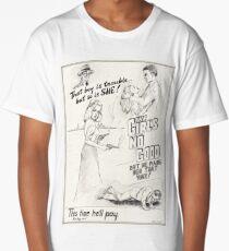 Graphic Novel Art: The Girl's No Good! Long T-Shirt
