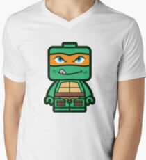 Chibi Michelangelo Ninja Turtle T-Shirt