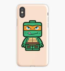 Chibi Michelangelo Ninja Turtle iPhone Case/Skin