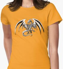Blue-Eyes Ultimate Dragon Womens Fitted T-Shirt