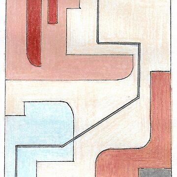 Original Abstract Art: Earth Tones by fossyboots