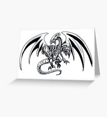 Blue-Eyes Ultimate Dragon Greeting Card