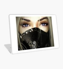 Inevitable Ascension - Lux with Gasmask Laptop Skin